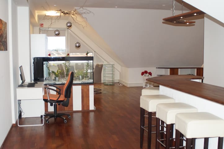 Eclusive Loft on 186 m² / central