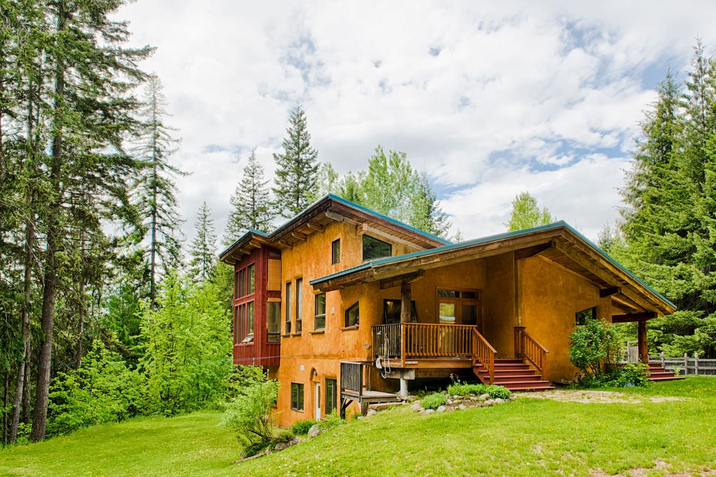 Set in the forest just 15km from Nelson, you have privacy and beauty surrounding you.