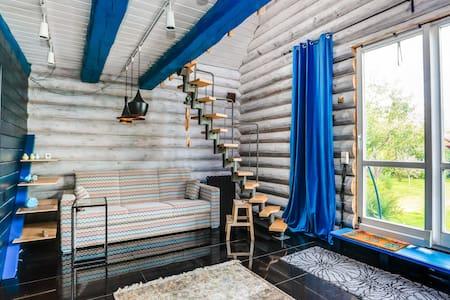 Стильный дом с баней в Домодедово
