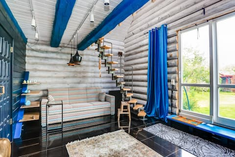 Beautiful home with sauna in Domodedovo