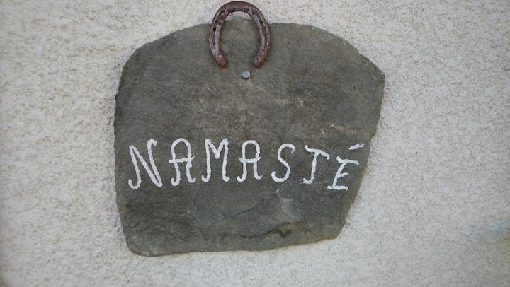 Namasté : la chambre pour se reposer en Ardèche
