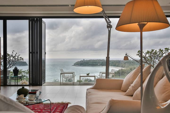 Stunning Ocean View Kata Beach Private Pool 2 Bed