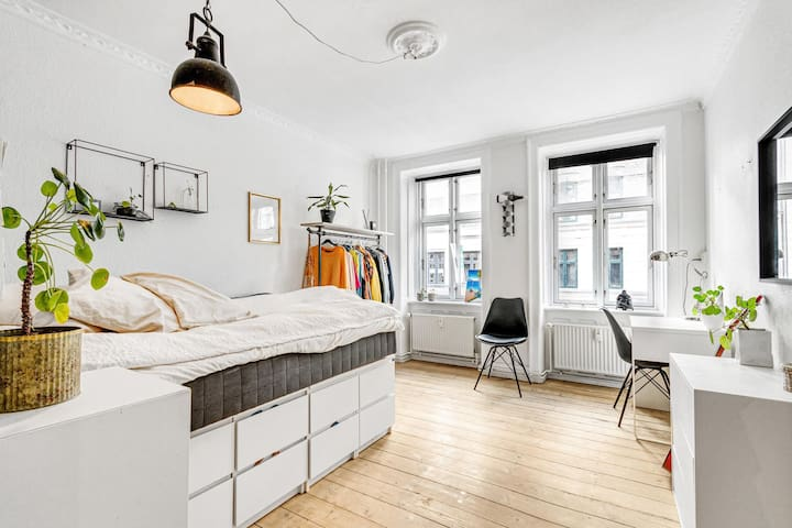 Charming flat in the heart of trending Vesterbro