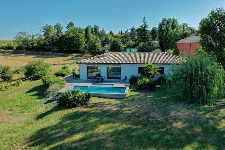 Villa sur les coteaux de Toulouse