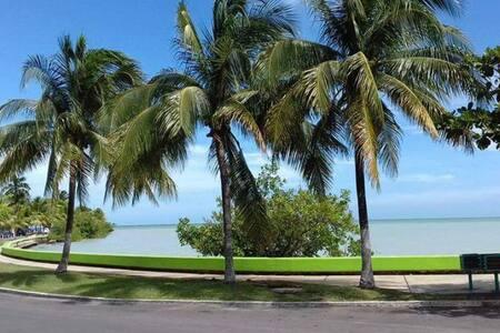 Vista a la Bahía  frente al Boulevard de Chetumal