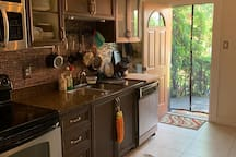 Big kitchen with all you need