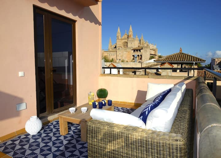Amazing penthouse in Palma heart - La Lonja Homes