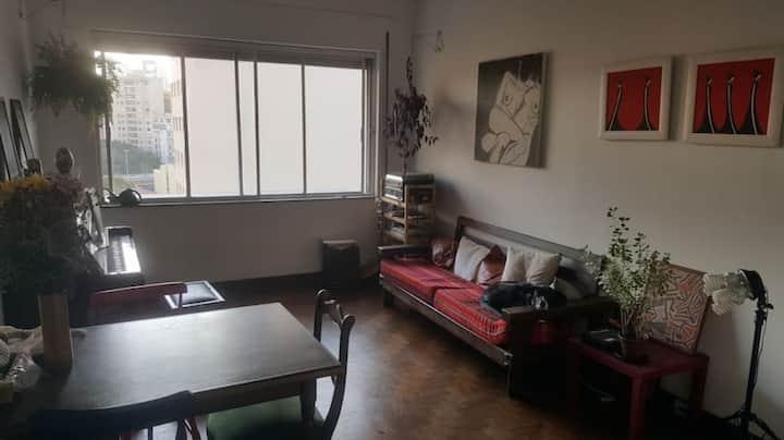 Apartamento charmoso na República
