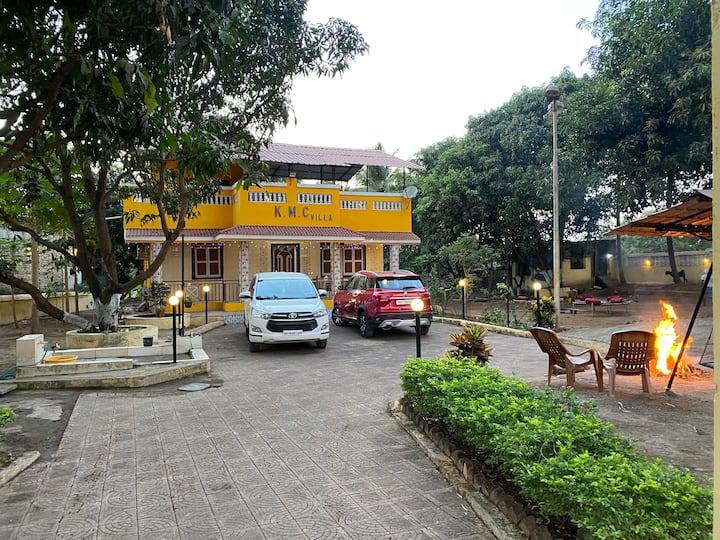 KMC villa (Farm House), A perfect Getaway !