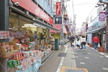 Japanese Snack shop  from my place, it takes 4 minutes to walk