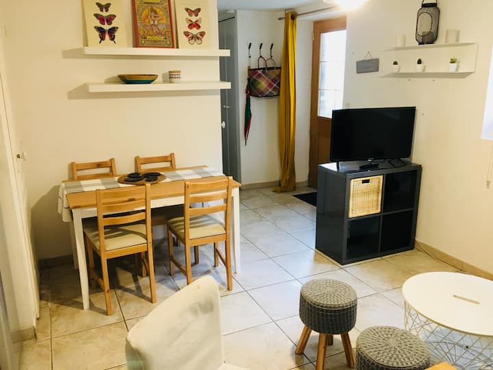 Appartement T2 Centre ville Wifi