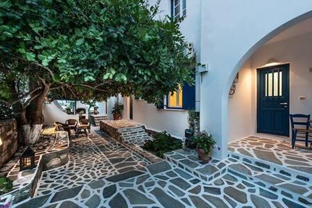 Triple studio με θέα στην θάλασσα - Paros - Apartment - 1