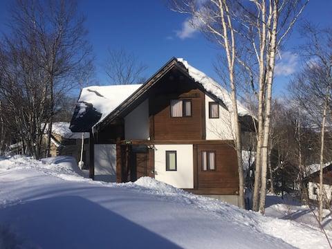 Appi Kogen Log Cabin