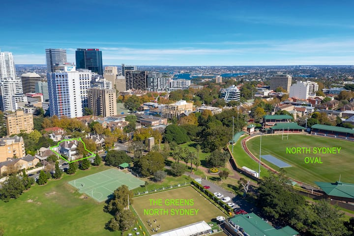 Executive Serviced north Sydney City pad