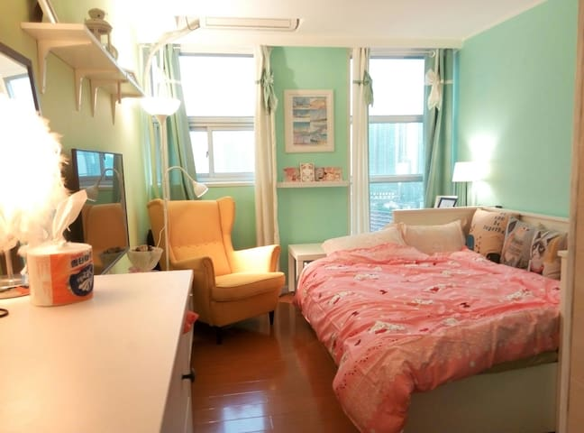 春天的Tiffany小屋 - Guangzhou - Appartement
