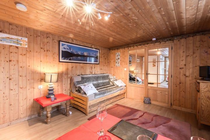 Cosy Les Houches Apartment, Taconnaz