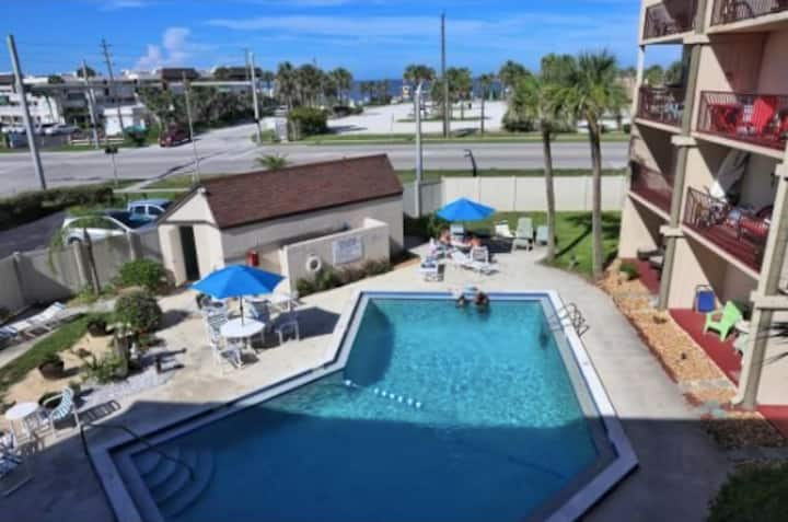 Bright & Spacious Condo: Across From Beach + Pool!