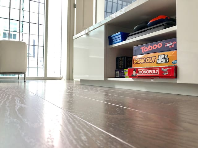 Living room game system and games!