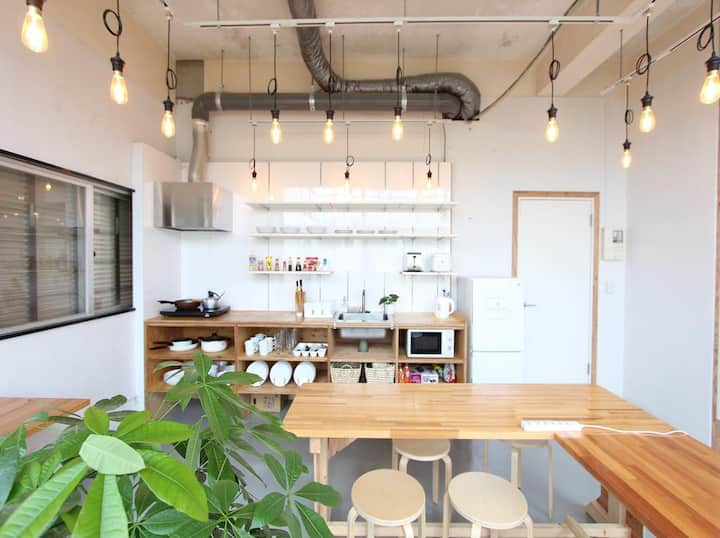 Ishigaki Guesthouse HIVE 4-Bed Female Dormitory
