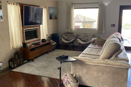 Suite individual com garagem