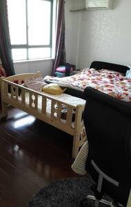 台州市区靓丽一主卧,一卫生间,还有baby床 - Taizhou Shi - Appartamento