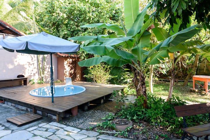 Beach house in Itacoatiara with pool and wifi