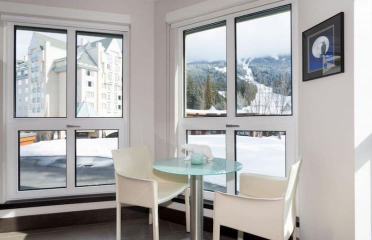 Ski in/Out! Mountain View 1BR, 2BA - Free Prk