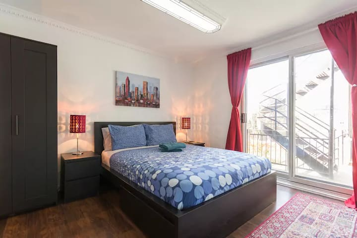 Clean and Cozy Suite Near Metro Station