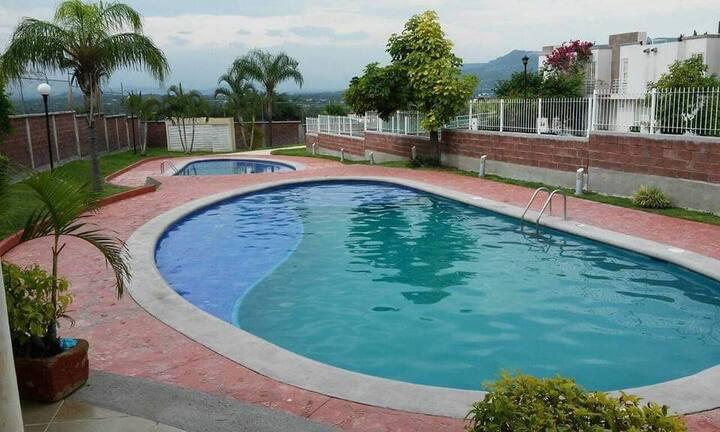 Cómoda casa en Xochitepec, Morelos con albercas