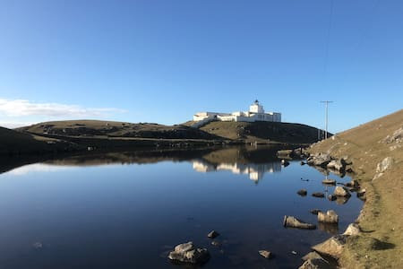 Magical Lighthouse studio with stunning sea views