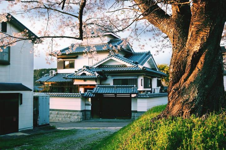 每日消毒|奈良伴山别墅 日式庭院套房/一次限定一组客人|一組限定|天守样式建筑