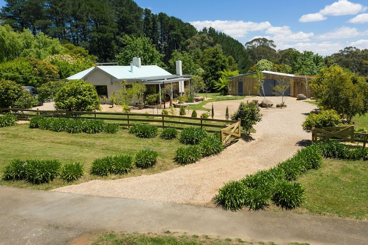 Daylesford Escape -Relaxed, Cosy & Family Friendly