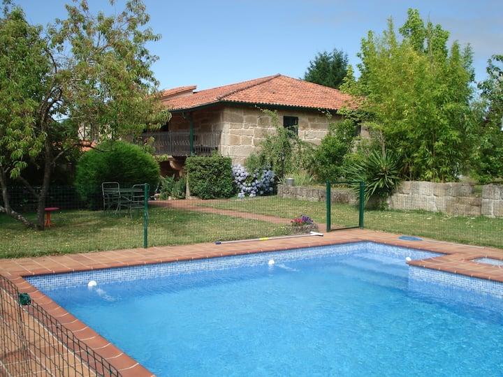 Una estancia especial con piscina privada