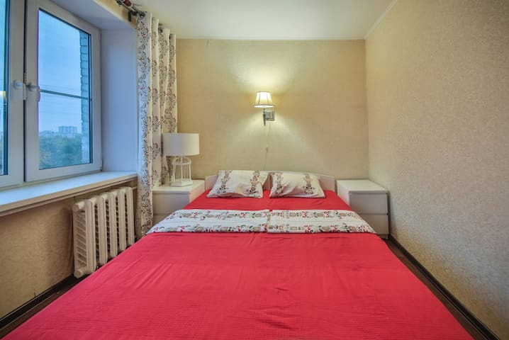 Уютная двухкомнатная квартира - Moskva - Hus