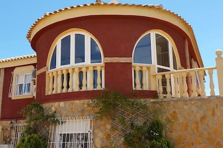 Chalet independiente en la playa de Gran Alacant - Chalet
