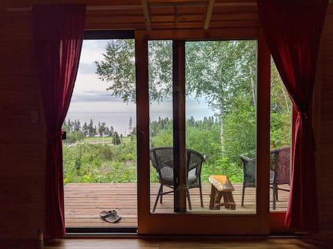 Cabine rustique Tofte - Camp de base avec une vue!