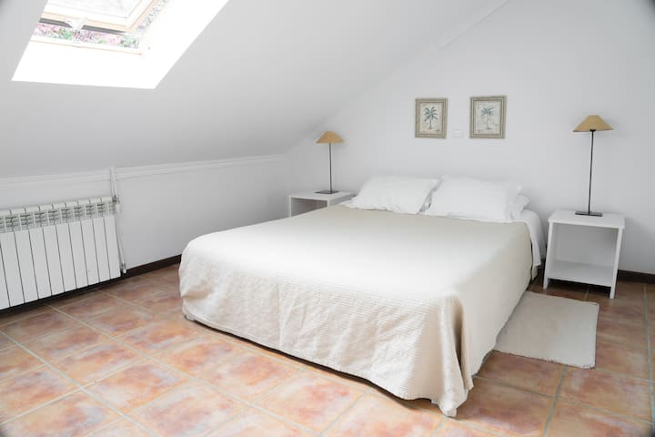 Standard double room 1, attic  (Casa das Proteas)