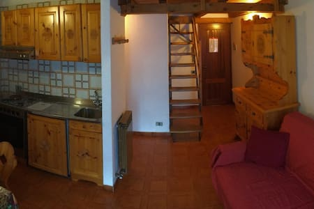 Valtournenche app soppalco 7 pers. - Moulin - Wohnung