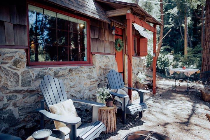 Romantic Stone Cabin