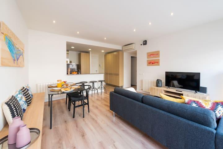 Apartamento frente Mútua de Terrassa (Petit Luxe)