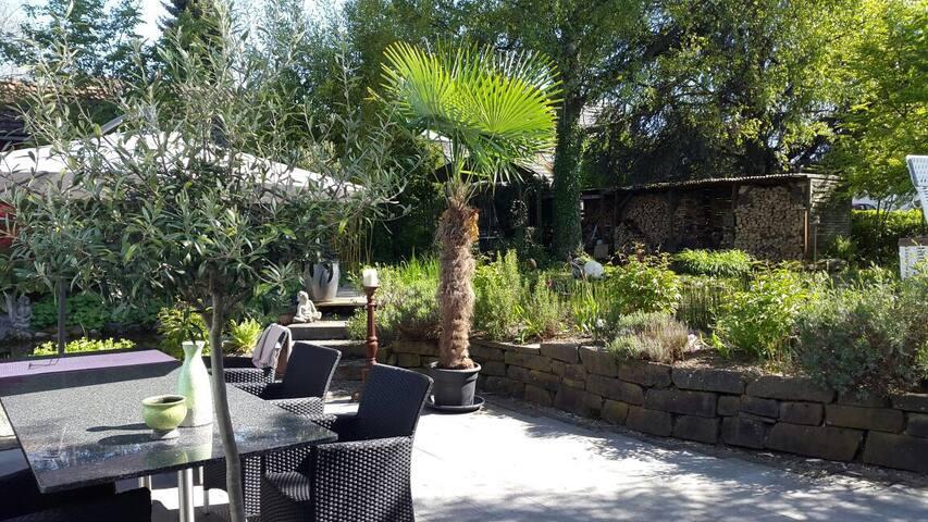 Privatzimmer Garten Paradies Konstanz