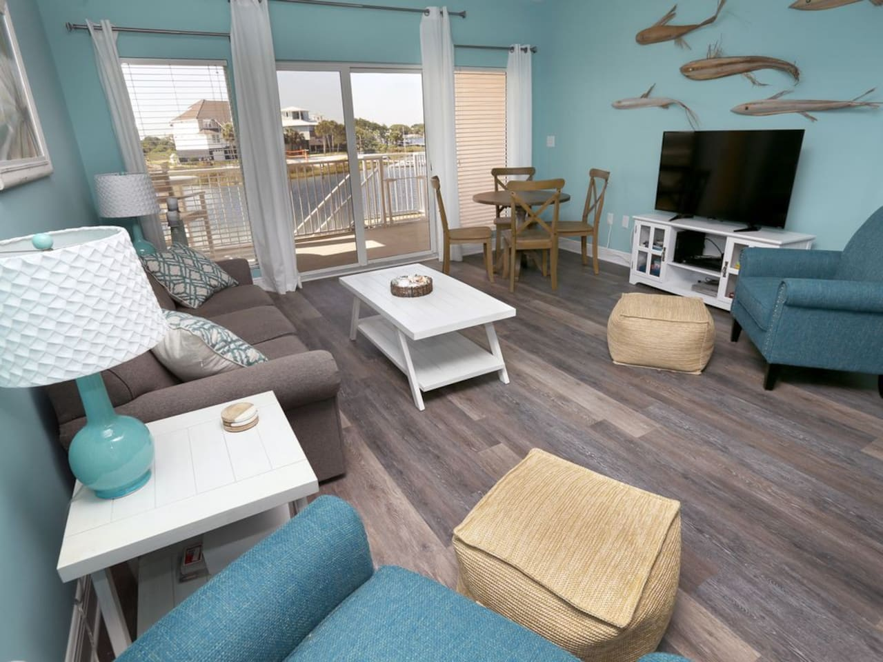 Newly renovated waterfront townhome