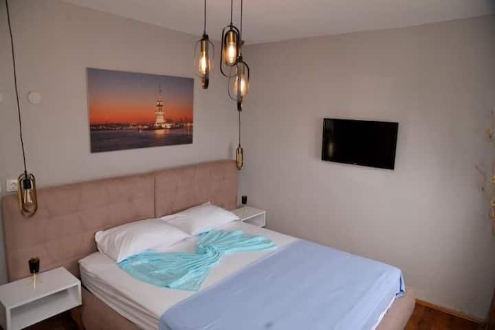 Likya evleri / denize sıfır sessiz bir tatil yeri