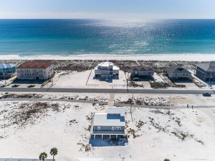 Navarre/Pensacola Beach Home 450ft to Ocean Water