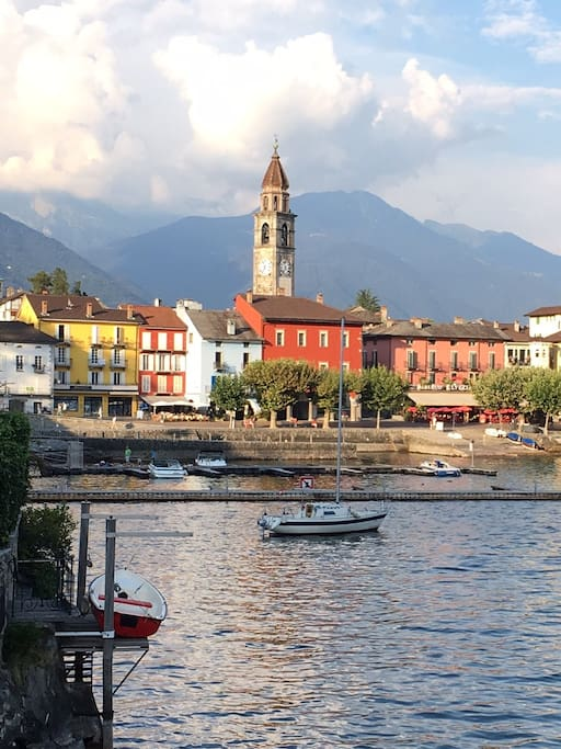 Ascona from the lake