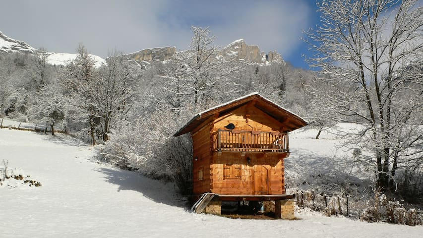 Small chalet cocooning : magic !