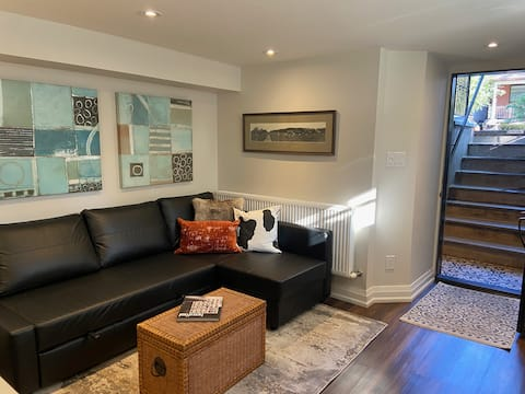 Newly renovated 1-bdrm suite in the Junction
