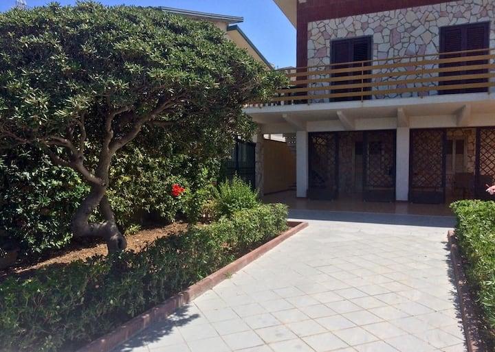 Battigia's home