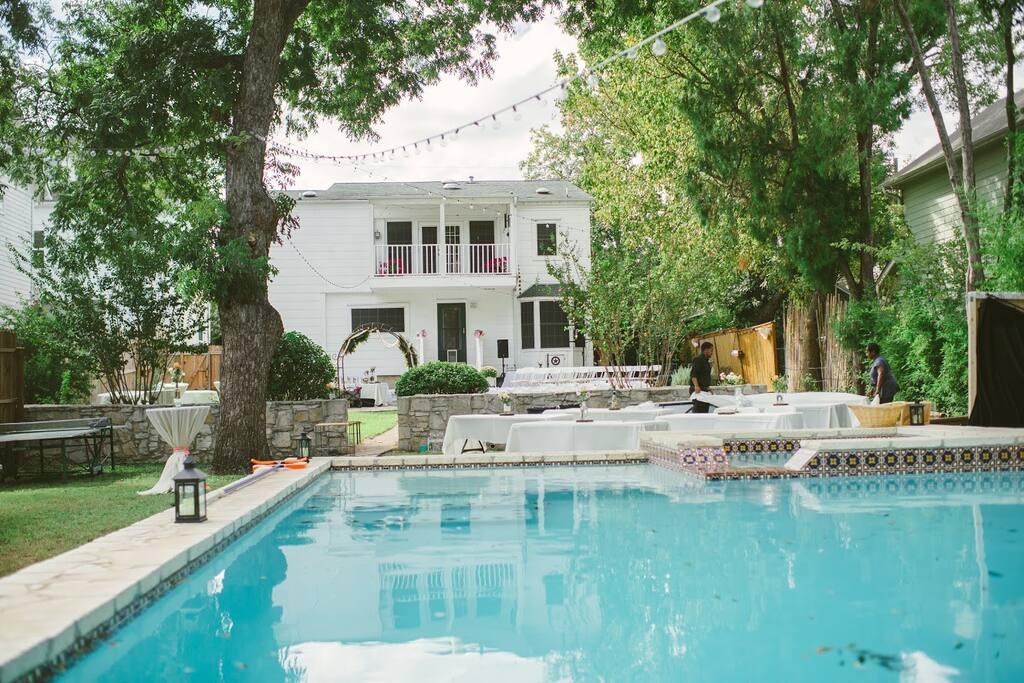Pool // Backyard Oasis