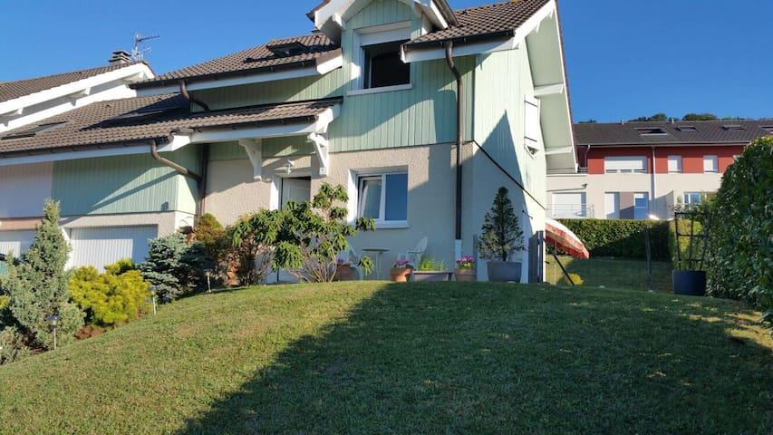 Chambre privé dans maison à Evian - Évian-les-Bains - House